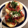 Thumbnail image for Spectacular Plant-Based Chilied Potatoes with Cashew Sour Cream
