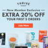 Thumbnail image for 20% Off Your First 3 Thrive Orders