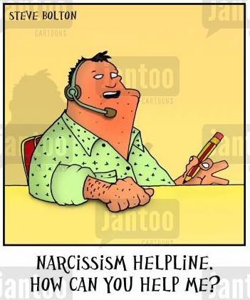 How do you help a narcissist