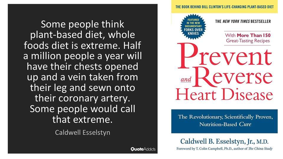 Prevent & Reverse Heart Disease Potluck Book Discussion